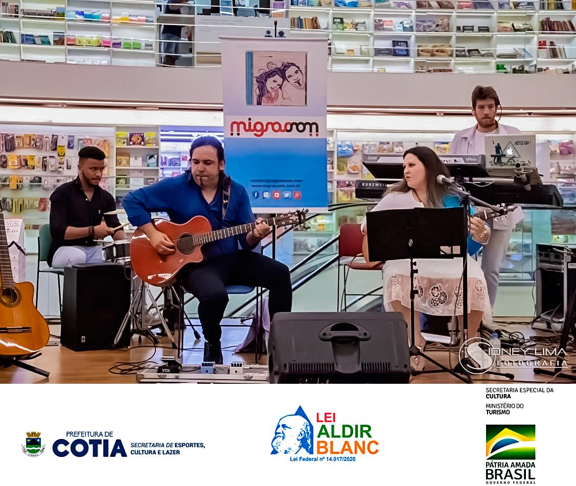 Duo Brasileiro Homenageia a Cidade de Cotia em Show Online